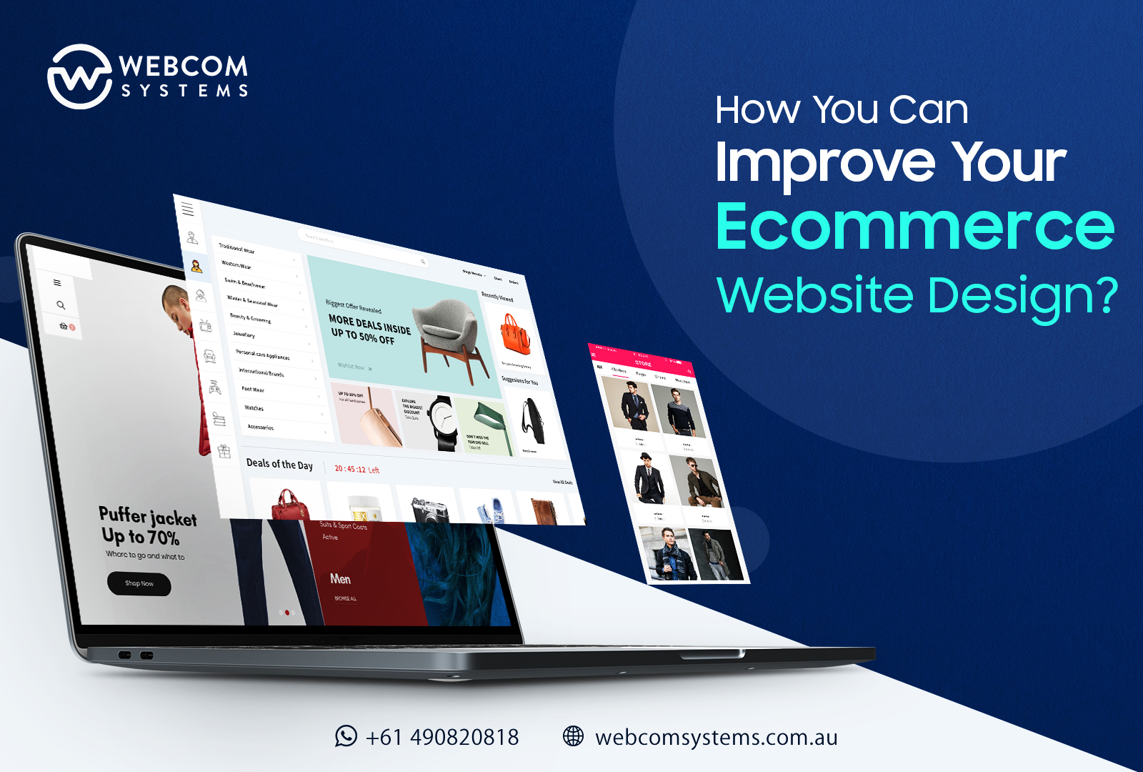 How You Can Improve Your Ecommerce Website Design?